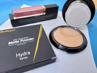 (NEW) Hydra Series : Matte Powder +LipCream