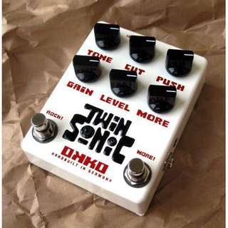 OKKO Twin Sonic - sonic overdrive guitar pedal