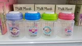 Baby storage bottle wideneck