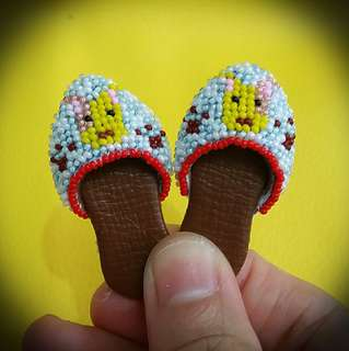 Peranakan Manek Mini Doll Shoes
