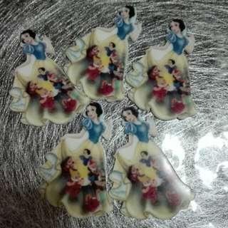 Snow White sevendrawf Brooch