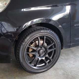 15 Inch Sport Rims With Tyres