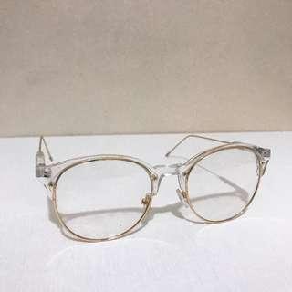 Fudge Rock Transparent Framed Specs/Eyeglasses