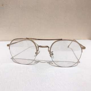Forever 21 Gold framed Specs/Eyeglasses