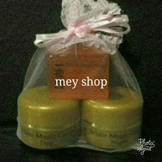 Paket cream korea - cream white magic