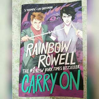 [Free pos]Carry On by Rainbow Rowell