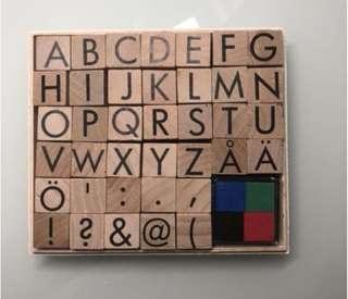 Kikki K Alphabet Stamp