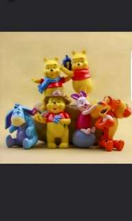 Winnie the Pooh cake toppers/ Figurine/toy/Display/miniature