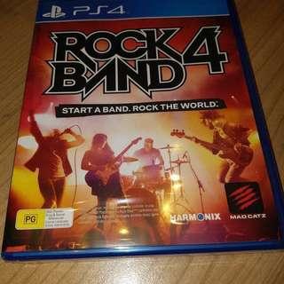 Rockband 4 PS4 Sealed