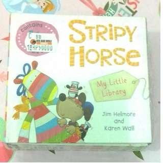 [BBW] Buku anak import STRIPY HORSE