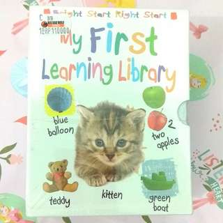 [BBW] Buku anak import My First Learning Library