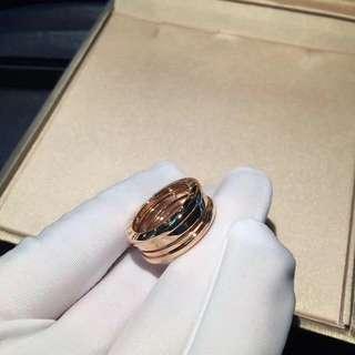 Bvlgari B.Zero1 窄版彈簧戒指