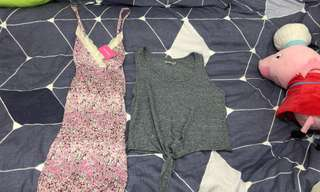 6ixty 8ight dress($30) and top($20)