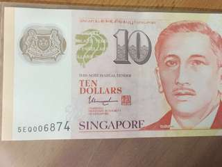 $10 note (6874) (7899)