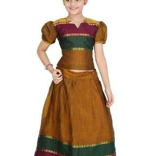 Girls Ethnic Lehenga Set