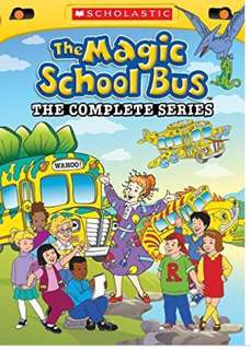 The Magic School Bus DVD - complete series 52 episodes