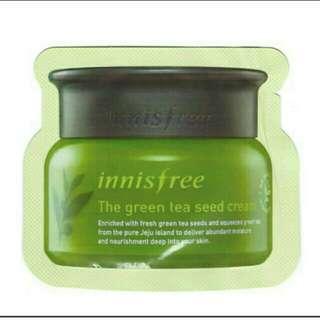 Innisfree Green Tea Seed Cream sample 1ml