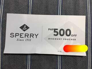 Sperry discount voucher