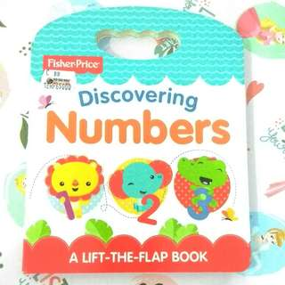 [BBW] Buku anak import Discovering Numbers board book