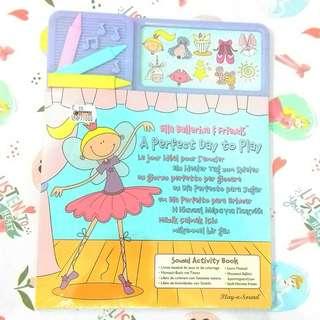 [BBW] Buku import anak Ella Ballerina & Friends sound book