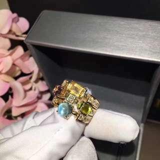 Bvlgari 彩寶鑽石戒指