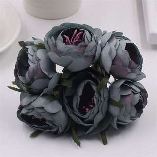 Artificial Flowers (blue)
