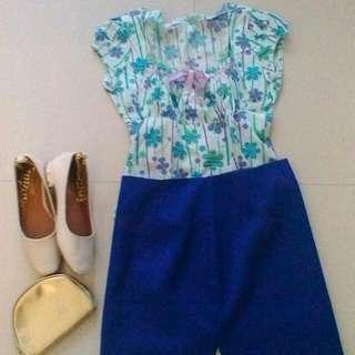 Floral blouse (unworn)