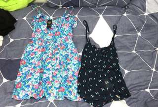 Hollister dress($100 new with tag) and top($60) both size xs