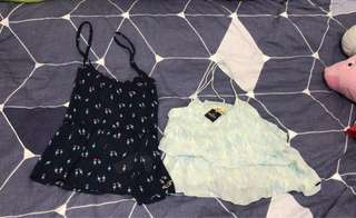 Hollister Top (both size xs)