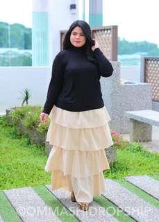 layered skirt plus size