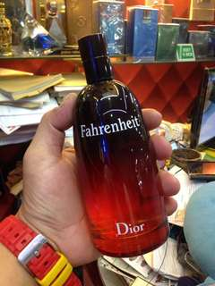 200ml Dior Fahrenheit for Men