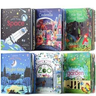 Toddler Kids Sensation Story Books