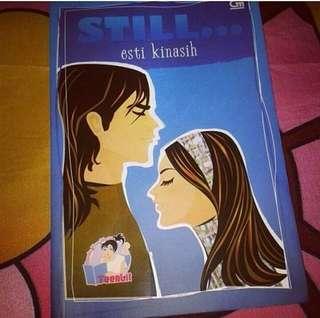 Novel Preloved Esti Kinasih - Still