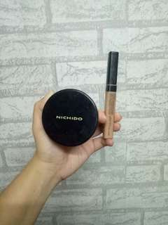 BUNDLE! Nichido Final Powder & Maybelline Fit Me Concealer