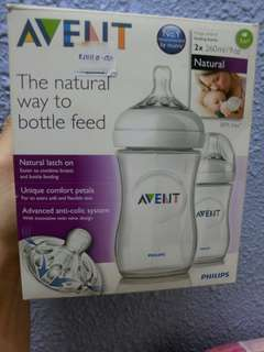 Philips Avent Natural (Twin pack)9oz/260ml