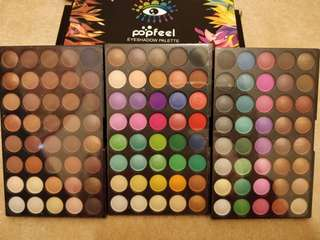 Brand new 120 colour Popfeel eyeshadow palette