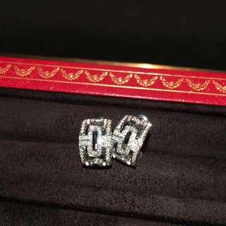Bvlgari 鑽石耳環