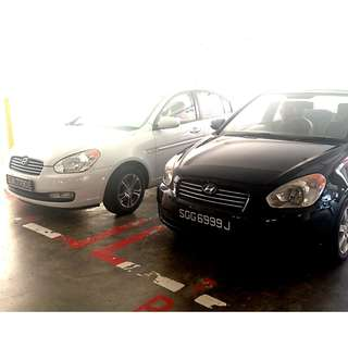 Hyundai Verna 1.4 (a) for rent - P-plate drivers welcome!