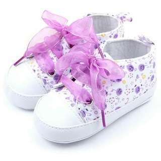 🍼 Event   Baby Shoes Sepatu Bayi Sneakers Purple