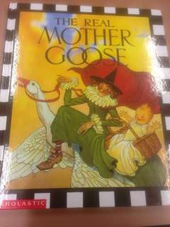 The Real Mother Goose (All familiar verses are here, repeated from generation to generation) in Hardcover