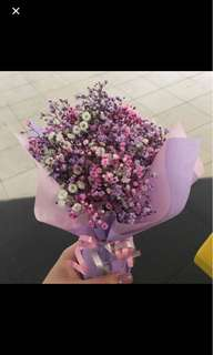 GRADUATION FLOWERS (BABY BREATH)