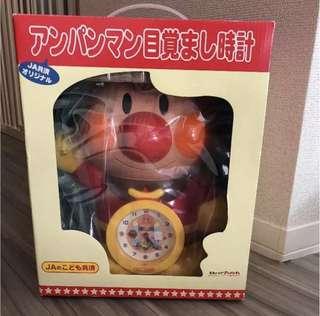 麵包超人玩具 時鐘 絕版