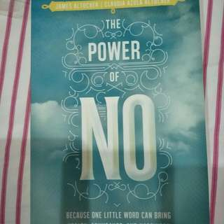 The Power Of No Book