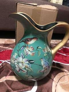 Antique flower vase