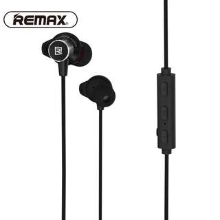 REMAX RB-S7 Magnetic Sports Bluetooth 4.1  Earphones (Black) with mic & control buttons