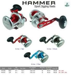 Omoto Hammer Slow jig reel(made in taiwa)