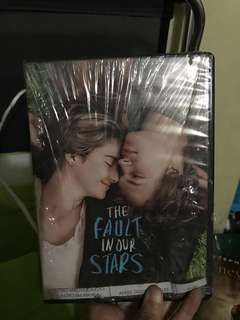 The Fault In Our Stars DVD