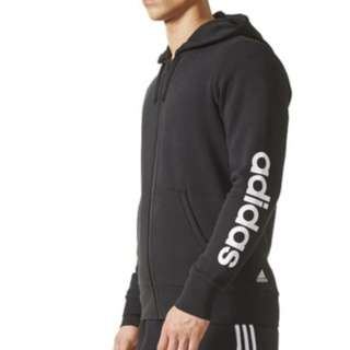 Adidas Essentials Linear Fleece Hoodie