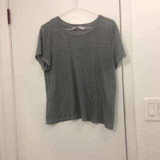 A&F grey t shirt