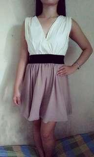 White Empire Dress